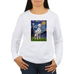 Starry / Dalmatian #1 Women's Long Sleeve T-Shirt