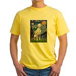 Starry / Dalmatian #1 Yellow T-Shirt