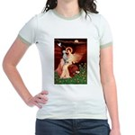 Angel / Dalmatian #1 Jr. Ringer T-Shirt