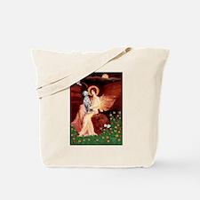 Angel / Dalmatian #1 Tote Bag