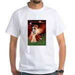 Angel / Dalmatian #1 White T-Shirt