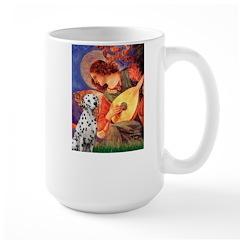 Mandolin / Dalmatian #1 Large Mug