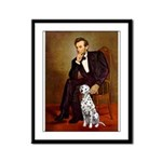 Lincoln / Dalmatian #1 Framed Panel Print