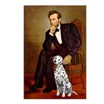 Lincoln / Dalmatian #1 Postcards (Package of 8)