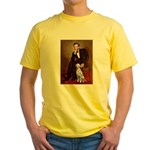 Lincoln / Dalmatian #1 Yellow T-Shirt