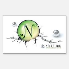 Neezo Inc. Rectangle Decal
