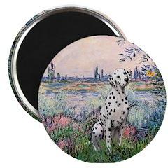 "Seine / Dalmatian #1 2.25"" Magnet (10 pack)"
