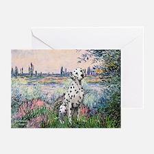 Seine / Dalmatian #1 Greeting Cards (Pk of 10)