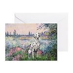 Seine / Dalmatian #1 Greeting Cards (Pk of 20)