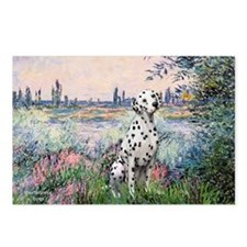 Seine / Dalmatian #1 Postcards (Package of 8)