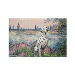 Seine / Dalmatian #1 Rectangle Magnet (10 pack)