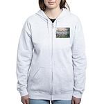 Seine / Dalmatian #1 Women's Zip Hoodie