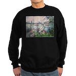 Seine / Dalmatian #1 Sweatshirt (dark)