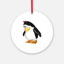 I Love Tux! Ornament (Round)
