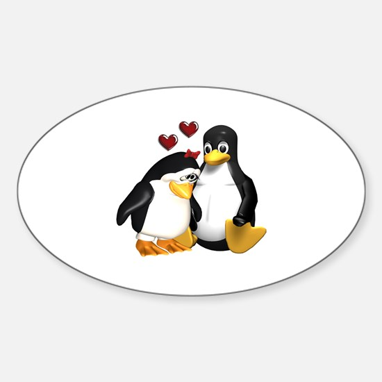 Chicks Love Me! Oval Decal
