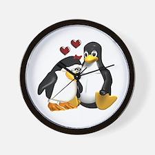 Chicks Love Me! Wall Clock