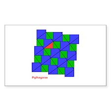 KME Pythagoras Rectangle Decal