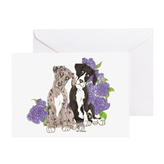 PR pups Mrl&Mtl Greeting Card