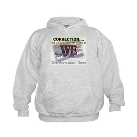 Correction this is change you Kids Hoodie