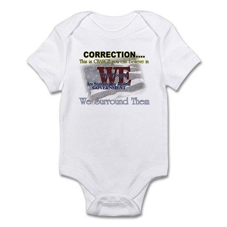 Correction this is change you Infant Bodysuit