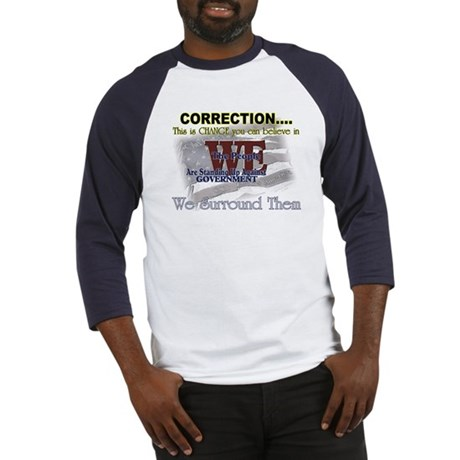 Correction this is change you Baseball Jersey
