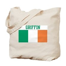Griffin (ireland flag) Tote Bag