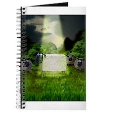 Strange Alien Sheep Experimen Journal