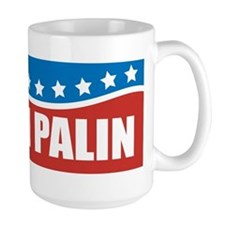 Palin Red White Blue Mug