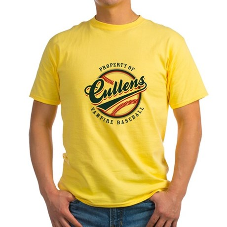 Cullens Baseball Yellow T-Shirt