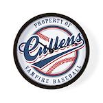 Cullens Baseball Wall Clock
