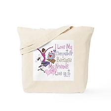 Online Friends Tote Bag