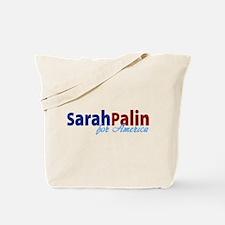 Sarah Palin for America Tote Bag