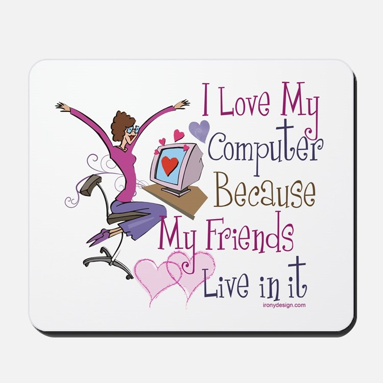 Online Friends Mousepad