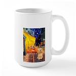 Cafe / Lhasa Apso #9 Large Mug