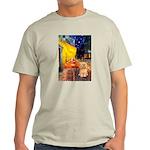 Cafe / Lhasa Apso #9 Light T-Shirt
