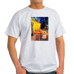 Cafe / Lhasa Apso #9 T-Shirt