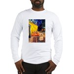 Cafe / Lhasa Apso #9 Long Sleeve T-Shirt