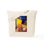 Cafe / Lhasa Apso #9 Tote Bag