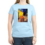 Cafe / Lhasa Apso #9 Women's Light T-Shirt