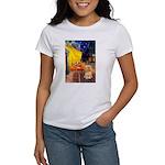 Cafe / Lhasa Apso #9 Women's T-Shirt