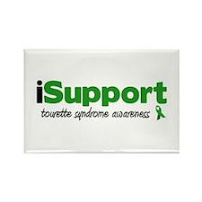 iSupport Tourette Rectangle Magnet