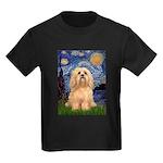 Starry / Lhasa Apso #9 Kids Dark T-Shirt