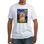 Starry / Lhasa Apso #9 Fitted T-Shirt