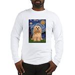 Starry / Lhasa Apso #9 Long Sleeve T-Shirt