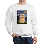 Starry / Lhasa Apso #9 Sweatshirt