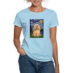 Starry / Lhasa Apso #9 Women's Light T-Shirt