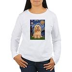 Starry / Lhasa Apso #9 Women's Long Sleeve T-Shirt