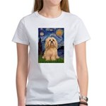 Starry / Lhasa Apso #9 Women's T-Shirt