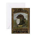 Legendary Flighted Penguin Greeting Card