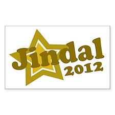 Jindal 2012 Rectangle Decal
